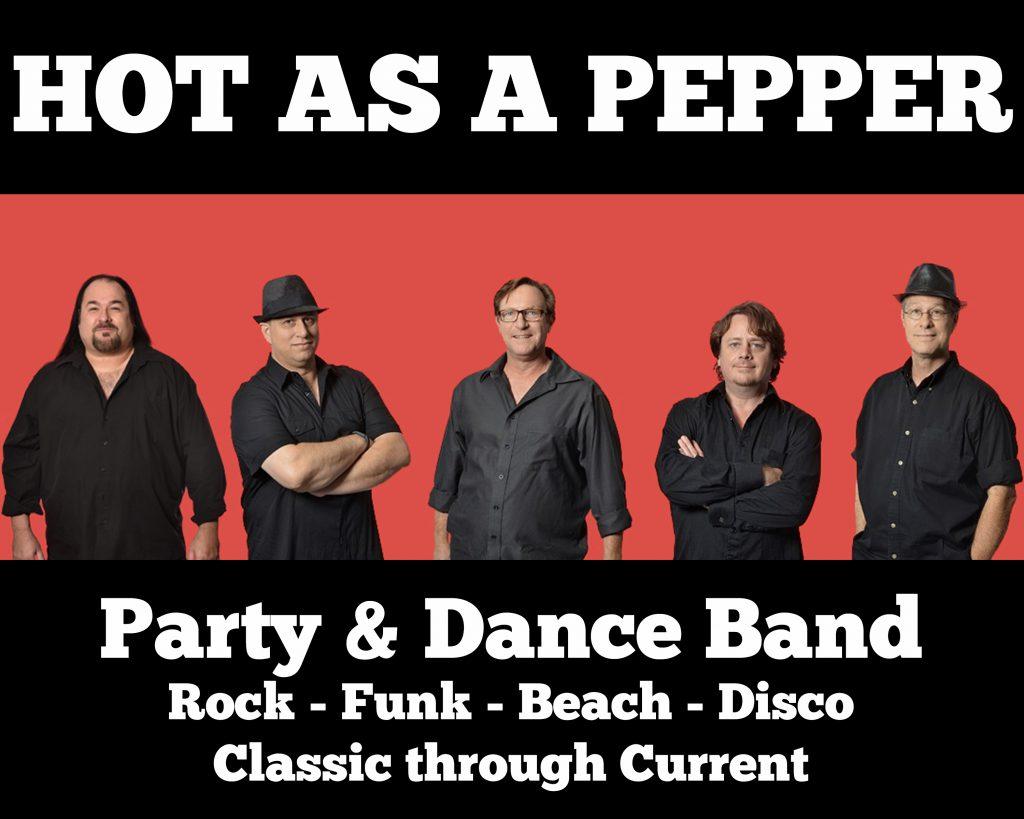 Hot As A Pepper 5 piece promo 8x10